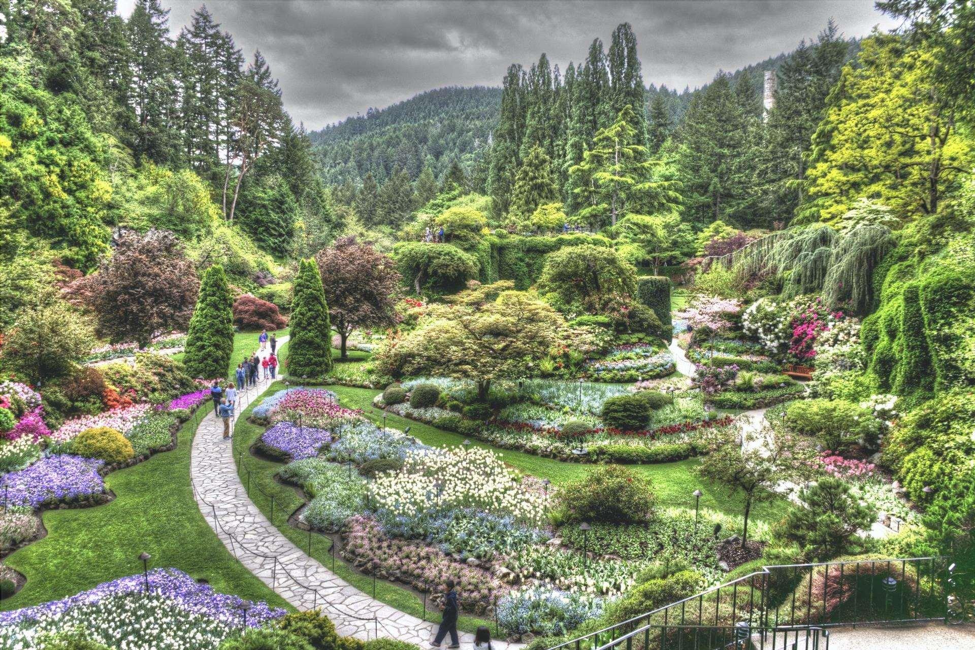 Ci sono molti stili di giardini
