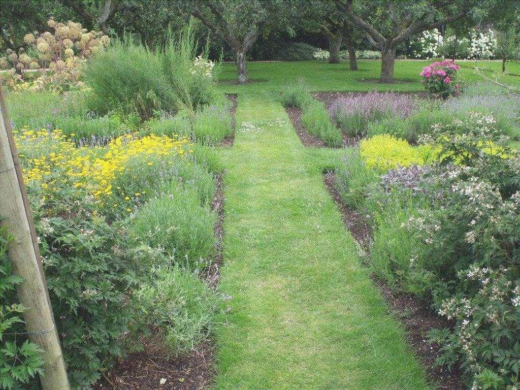 Un giardino ben curato deve essere annaffiato