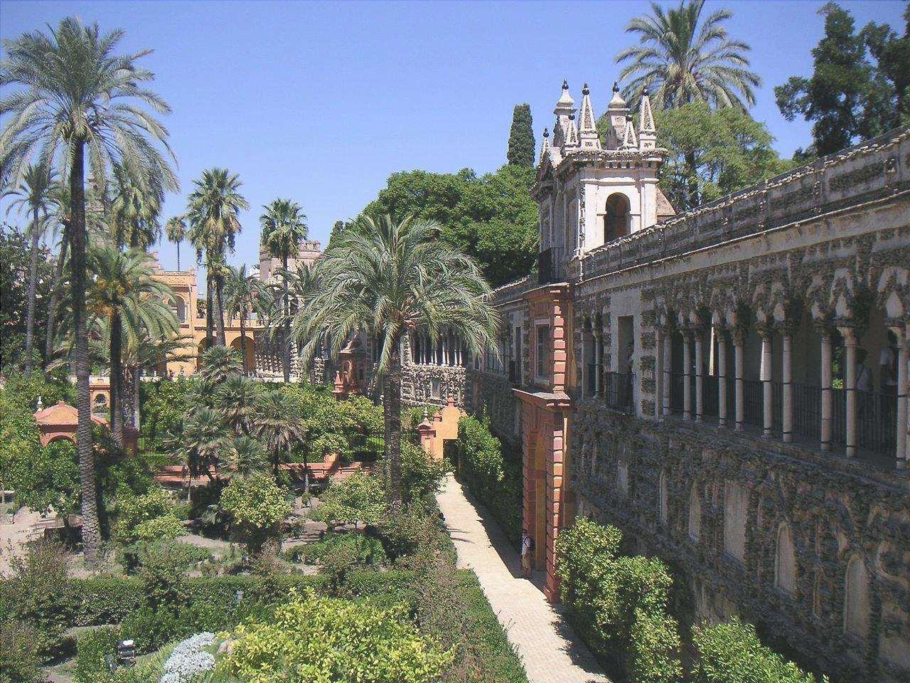 Il giardino spagnolo è un misto di stili