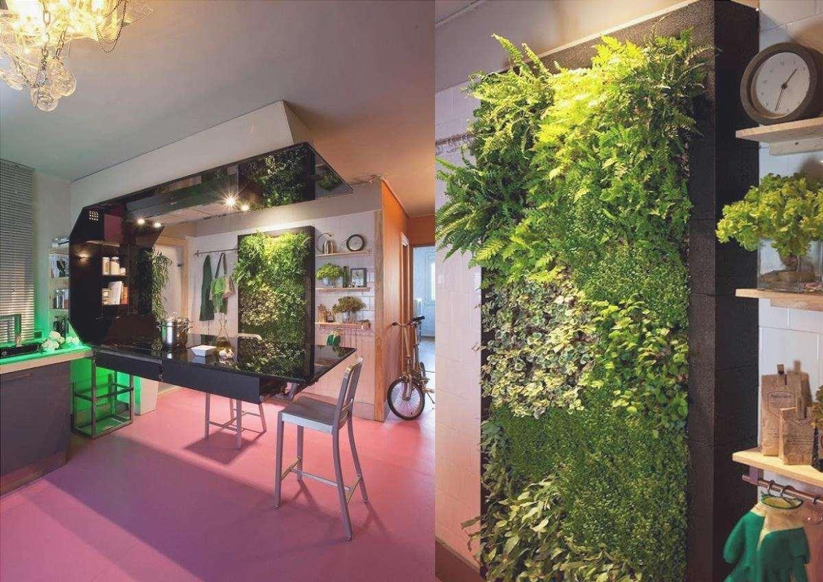 giardino verticale artificiale