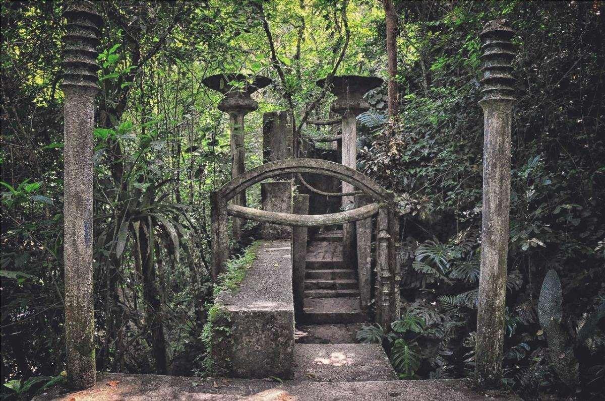 Las Pozas sono giardini di sculture in Messico.