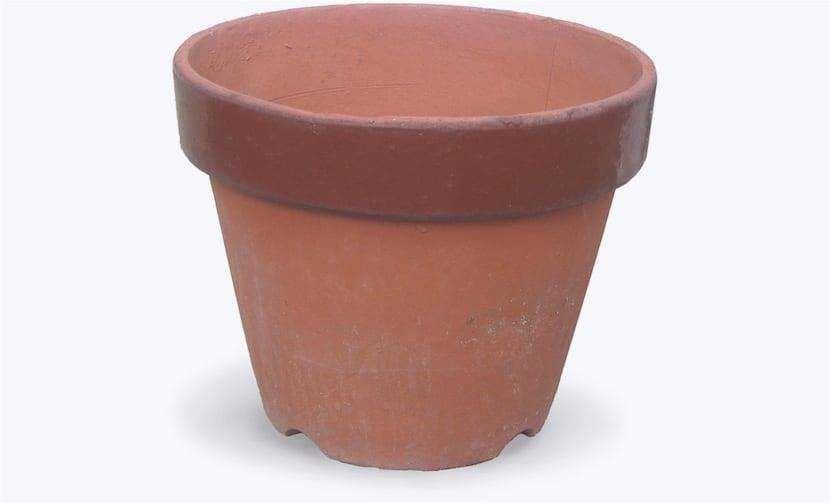 vaso d'argilla