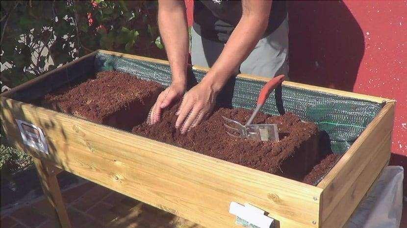 manutenzione delle tabelle di coltivazione