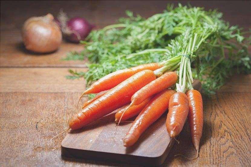 ramillete de zanahorias 1